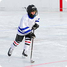 Burich Arena youth hockey